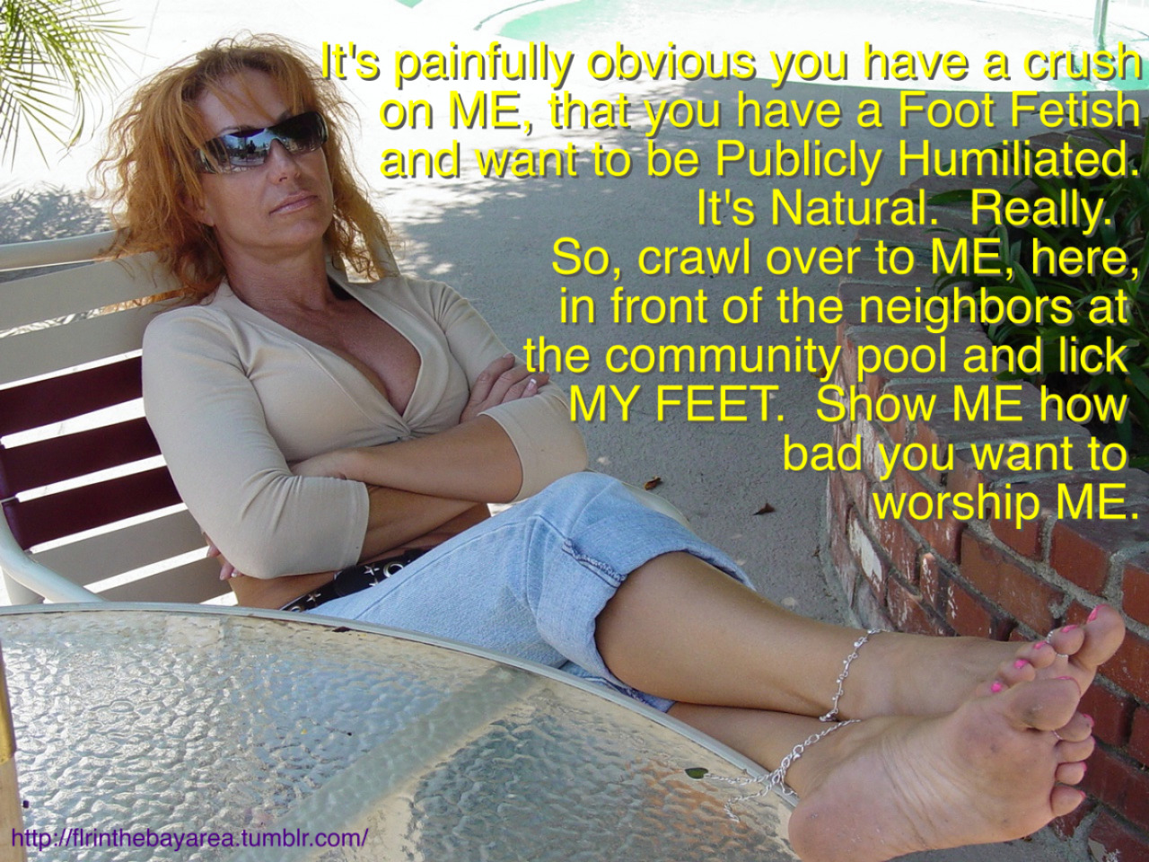 Forced Foot Worship Stories photo 6